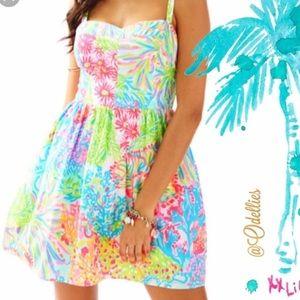 Lilly Pulitzer Bright Neon Ardleigh Sundress
